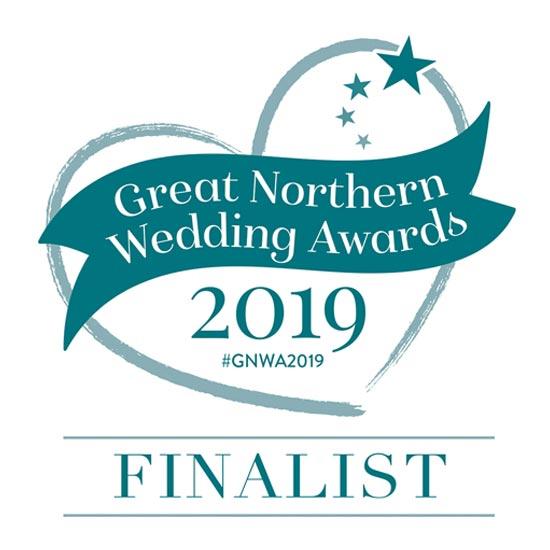 Great Northern Wedding Awards Finalist 2019