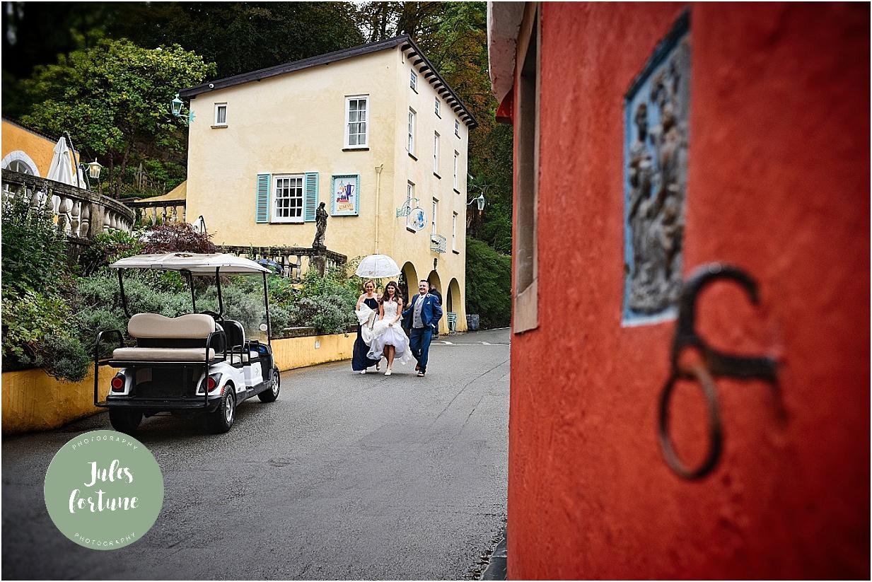 Portmeirion Wedding Photographer North Wales